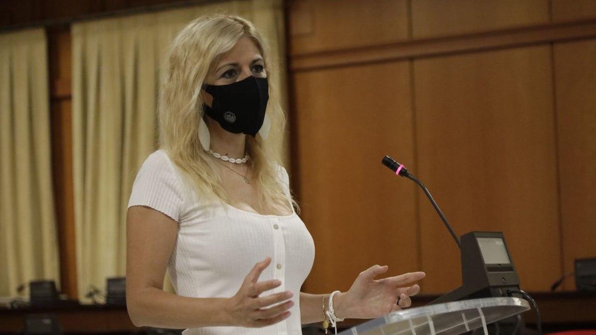 La delegada de Transformación Digital del Ayuntamiento de Córdoba, Lourdes Morales.