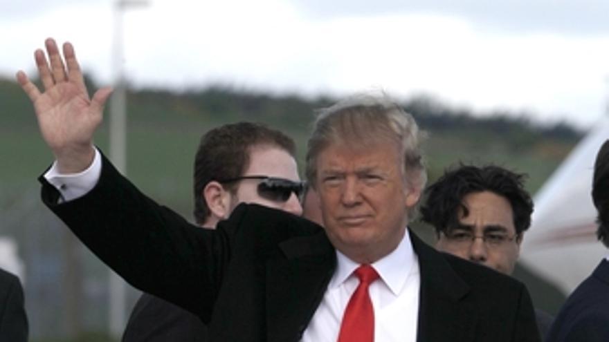 Empresario estadounidense Donald Trump