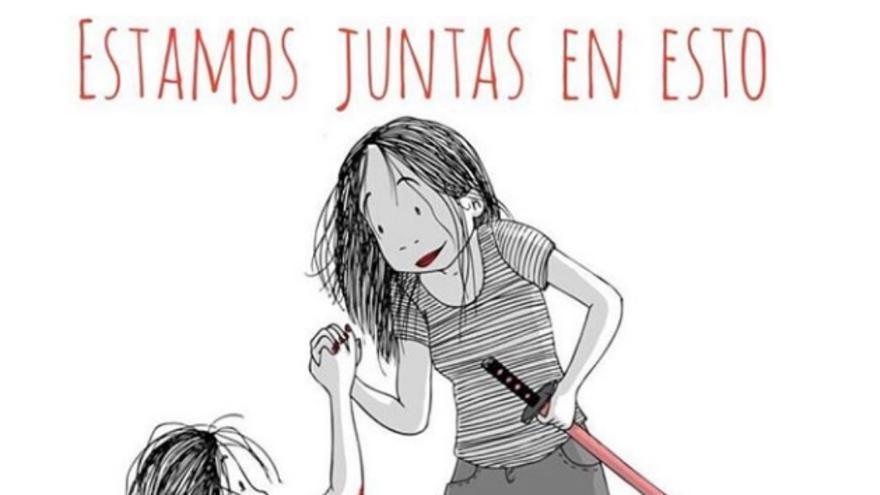 Ilustración de Lola Vendetta