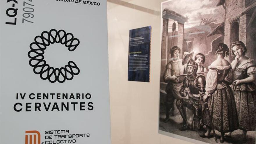Un billete del Metro de México conmemora el 400 aniversario de la muerte de Cervantes