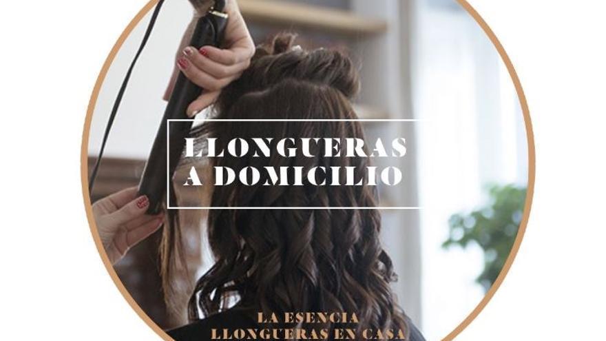 Las peluquerías Llongueras lanzan su servicio a domicilio