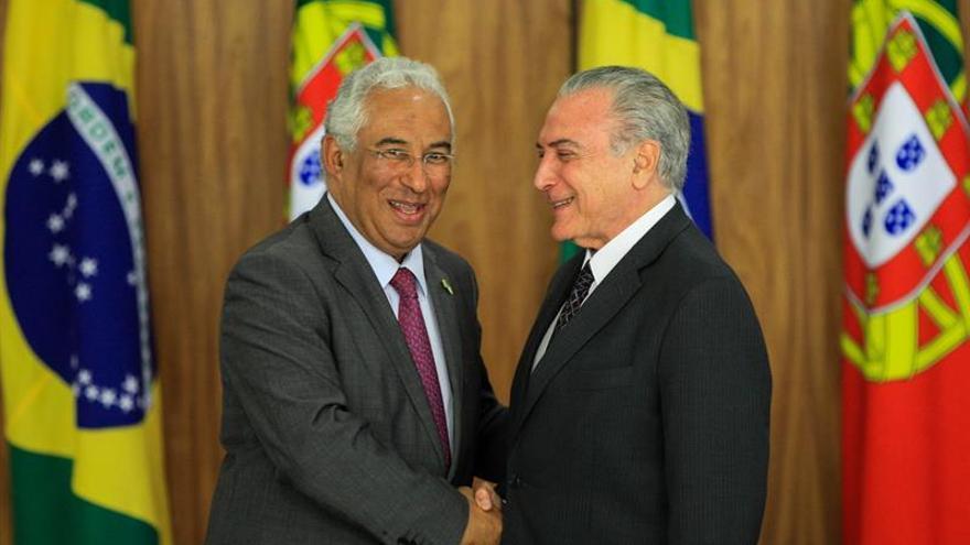 Temer afirma que Portugal y España ayudarán a acelerar el acuerdo UE-Mercosur