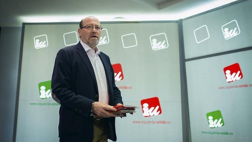 El ex secretario de Organización de IU, Miguel Reneses. / Efe