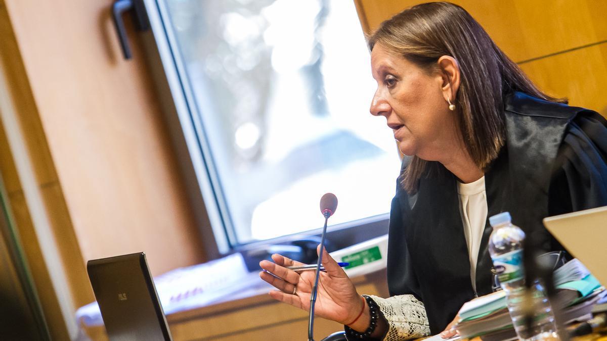 La fiscal María Farnés.
