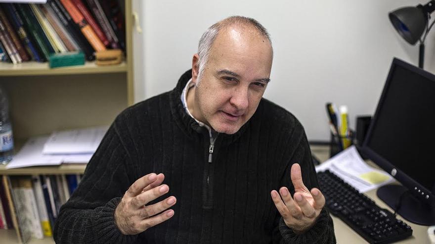 Rodrigo Martín, profesor de Historia Contemporanea de la UPF