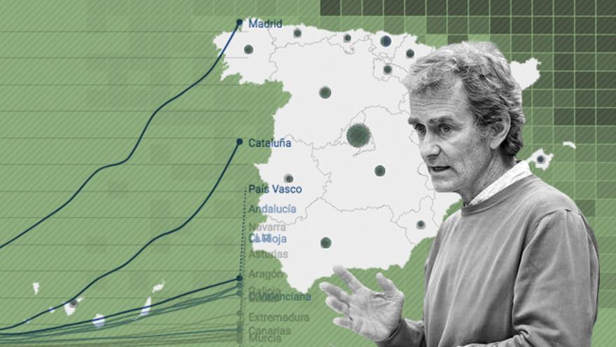 El coronavirus en España: mapas y últimos datos de los rebrotes y su evolución
