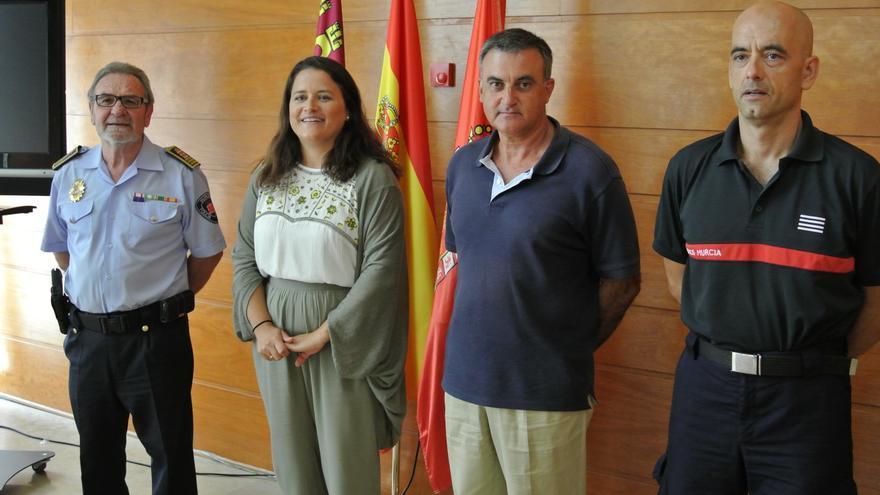 El Ayuntamiento de Murcia presentó su dispositivo de seguridad para la Feria de Septiembre