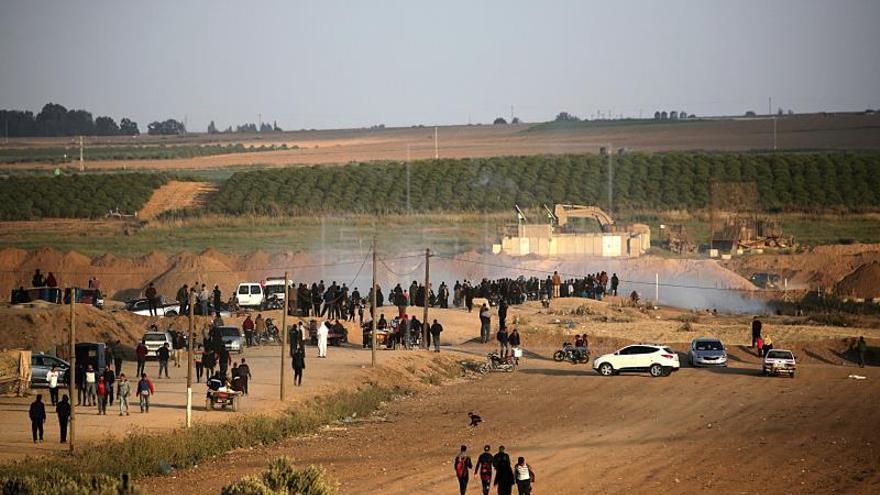 El Tribunal Supremo permite la salida de un herido en protestas de Gaza, denegada por Israel