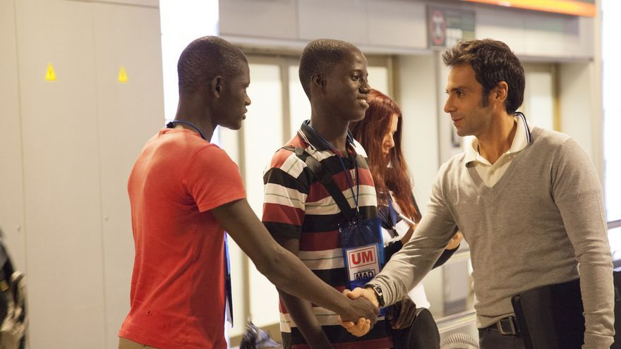 Fotograma de la película sobre el tráfico de menores en el fútbol Diamantes Negros / Fotografía: CyPComunciación