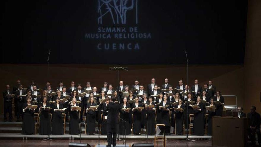 Coro RTVE en la Semana de Música Religiosa de Cuenca