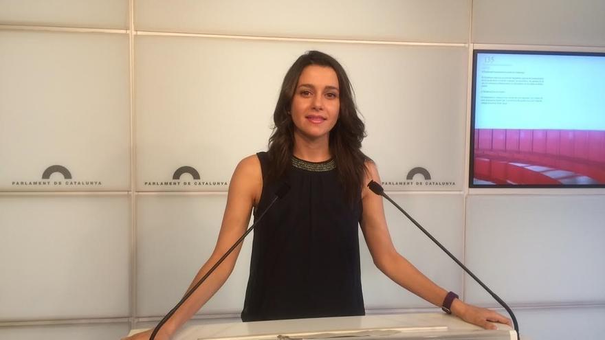 Arrimadas reprocha al Govern que no convoque actos para hablar de la corrupción