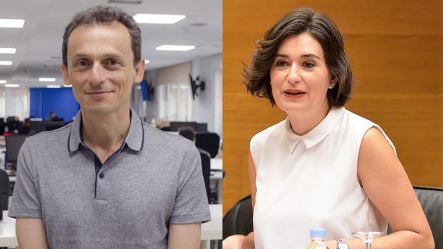 Pedro Duque y Carmen Montón, nuevos ministros de Ciencia y Sanidad respectivamente