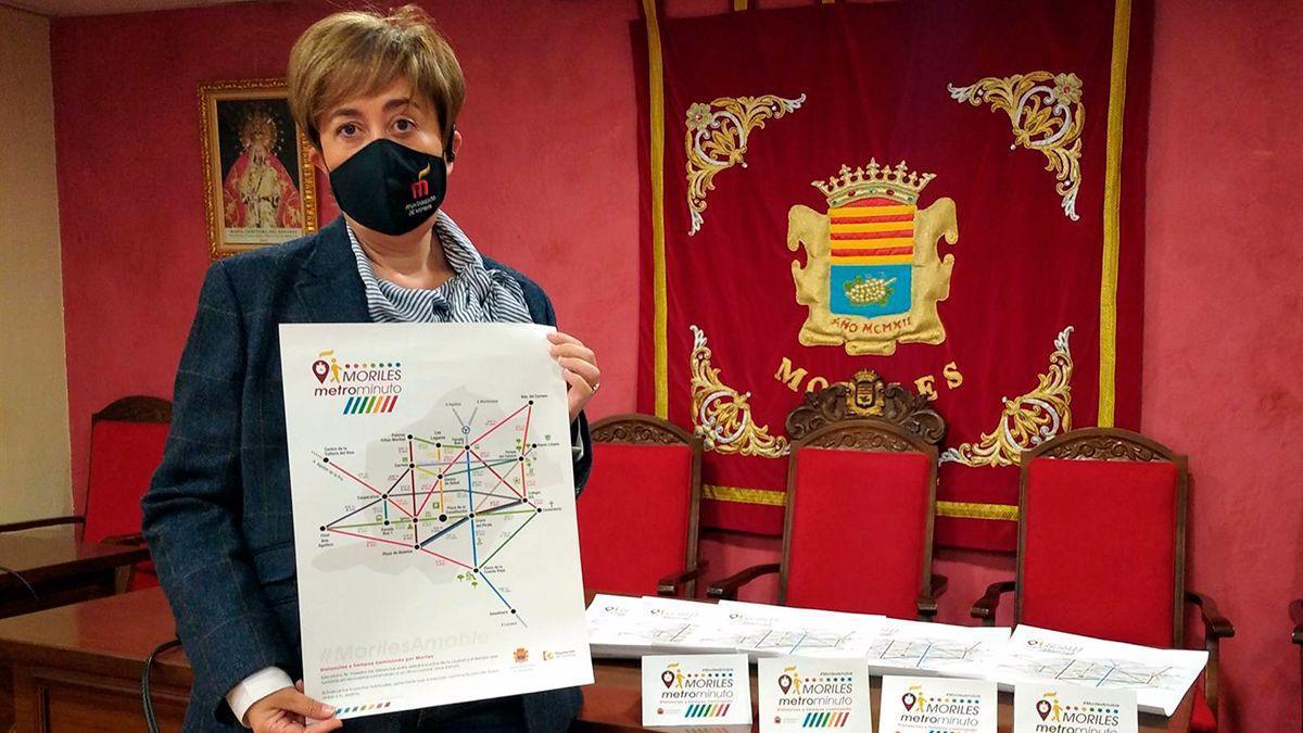 Presentación del plano 'Metrominuto' en Moriles.
