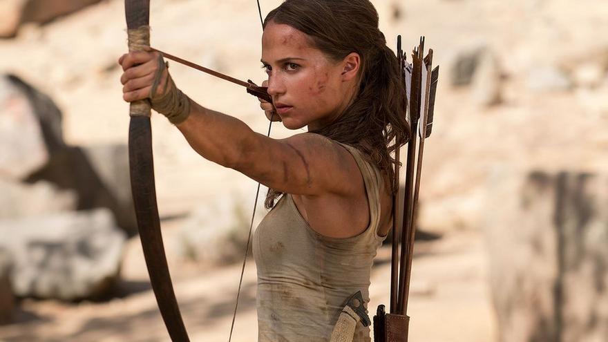 Alicia Vikander en 'Tomb Raider: Las aventuras de Lara Croft'