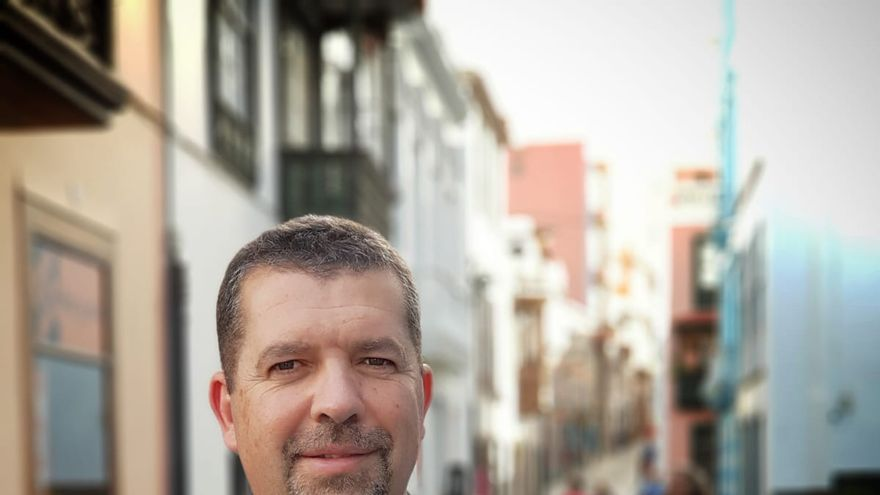 Juan José Cabrera, portavoz del grupo Popular en el Ayuntamiento de Santa Cruz de La Palma.