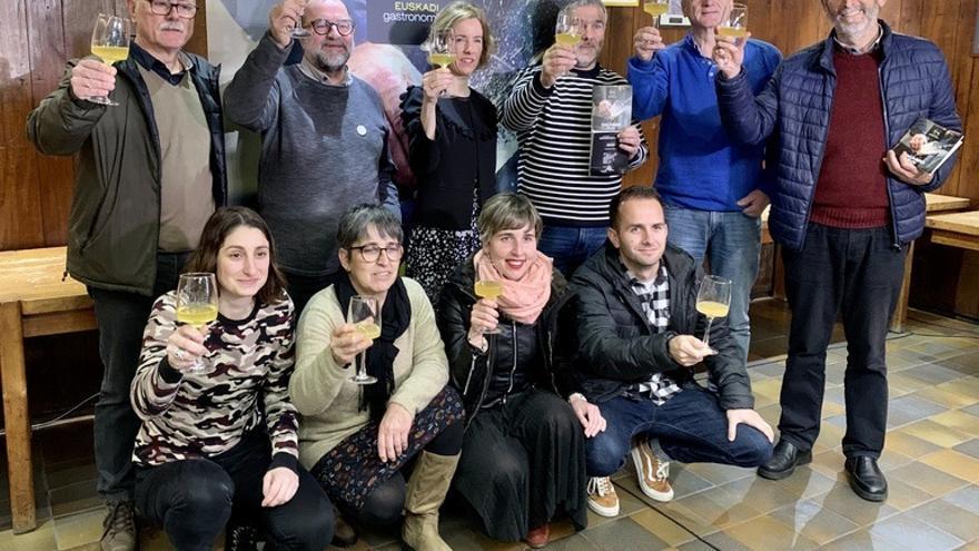 Gobierno Vasco y asociaciones presentan el 'Sagardomapa', el primer mapa temático de la cultura de la sidra