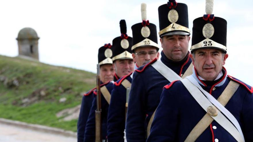 Almeida, en la frontera hispanolusa, revive la Guerra de la Independencia