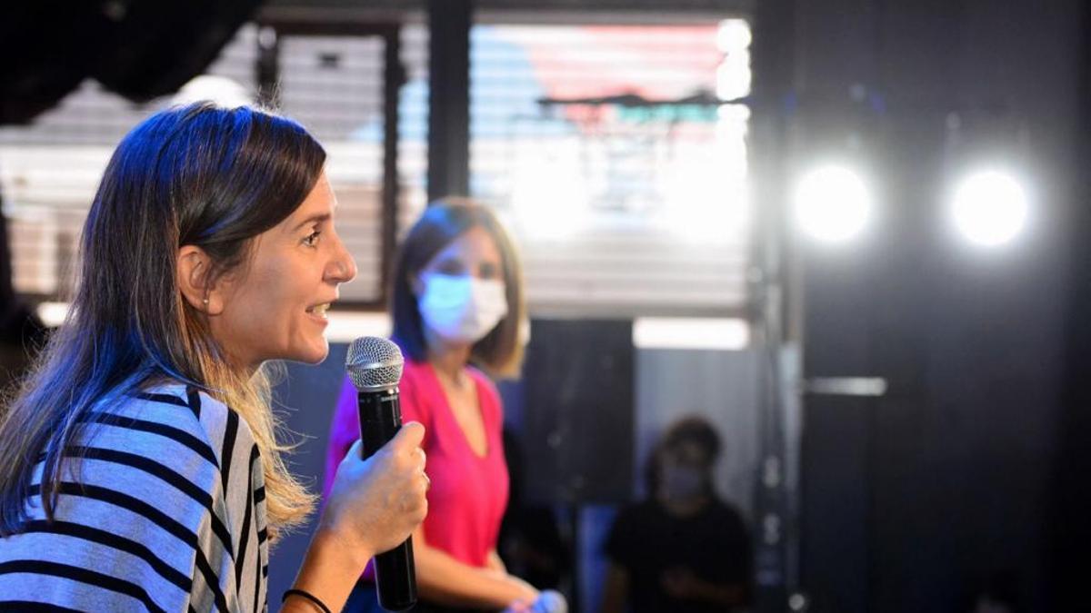 Fernanda Raverta, titular de la Anses