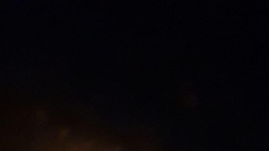 Declarado un conato de incendio en la carretera que une Mogán y La Aldea