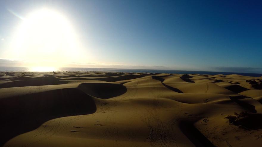 Las Dunas de Maspalomas. (Foto: Canarias Ahora).