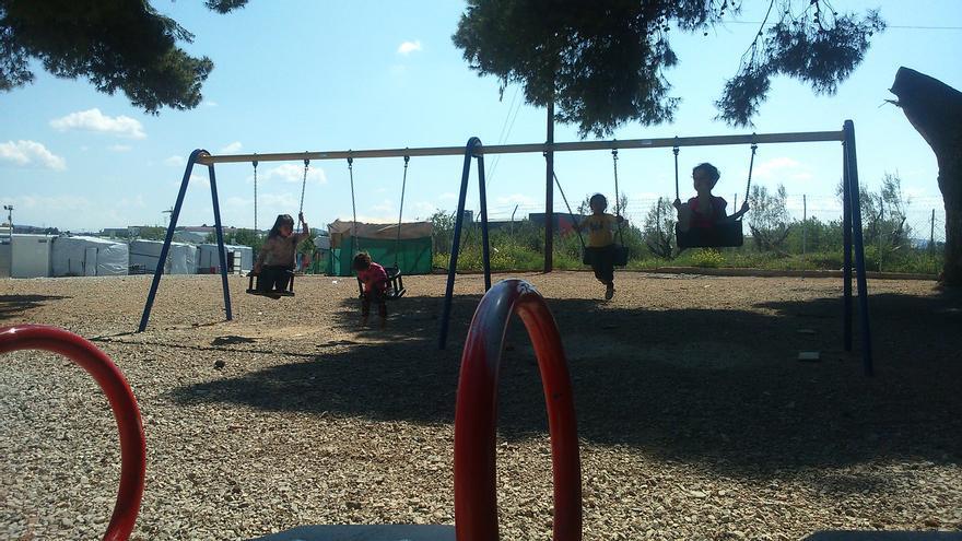Campo de refugiados de Ritsona, Grecia / Teresa Fuentes