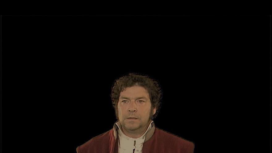 Dato primitivo IV. Caso Goya (2009) Videoinstalación ©Montserrat Soto. VEGAP Madrid, 2018 Coautora: Áurea Martínez