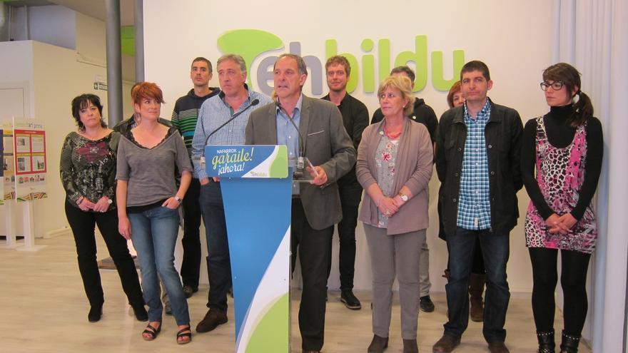 """Araiz dice que EH Bildu actuará """"con responsabilidad"""" para """"garantizar el Gobierno del cambio"""" en Navarra"""