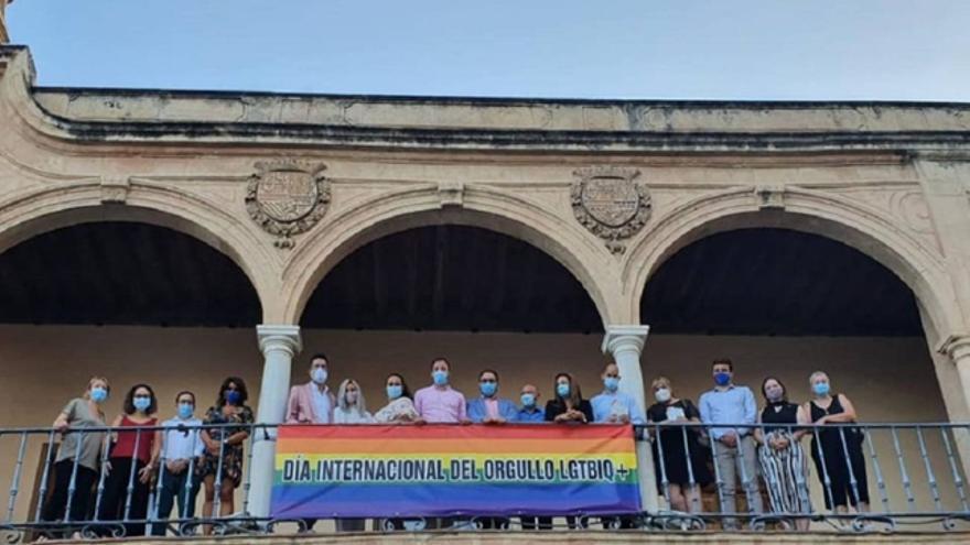 Celebración del Día del Orgullo en el Ayuntamiento de Lorca