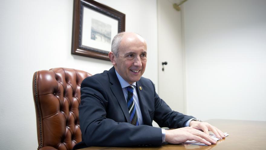 El candidato peneuvista por Bizkaia Josu Erkoreka