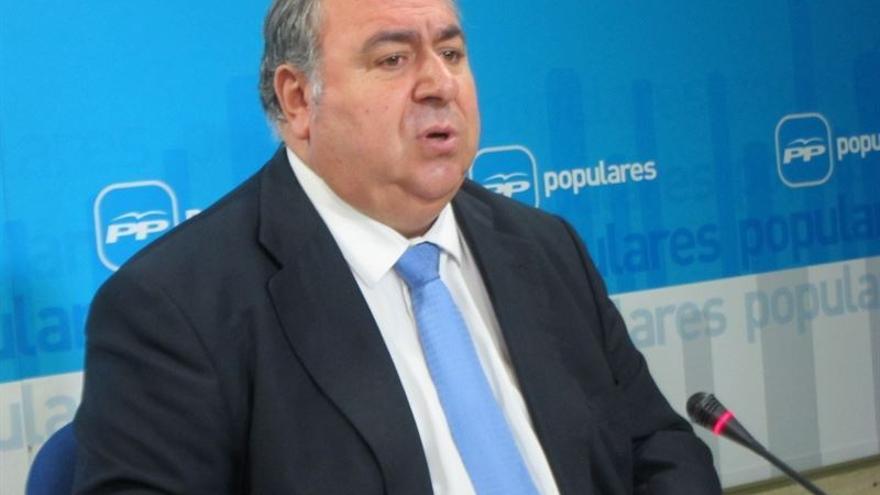 El secretario general del PP-CLM, Vicente Tirado / Foto: EUROPA PRESS