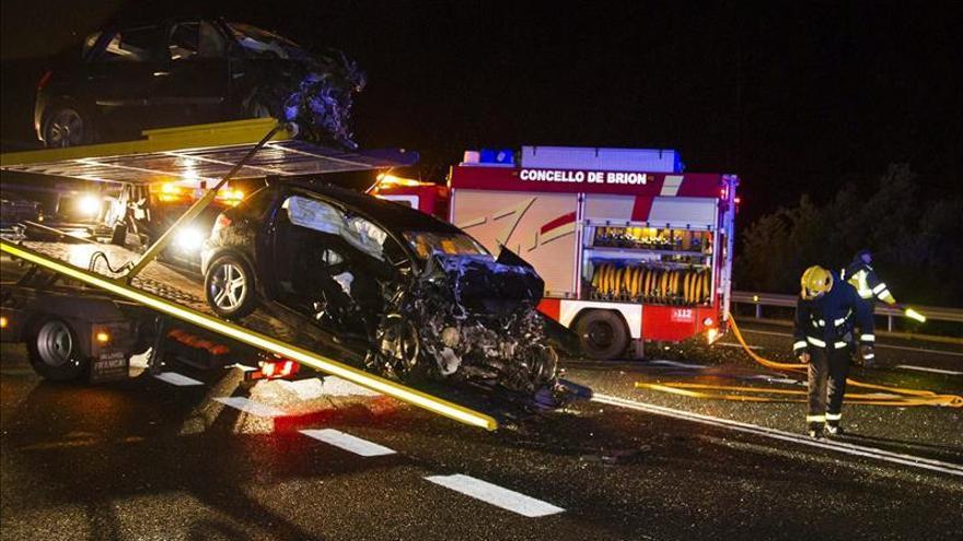 Seis personas mueren en tres accidentes de tráfico el fin de semana