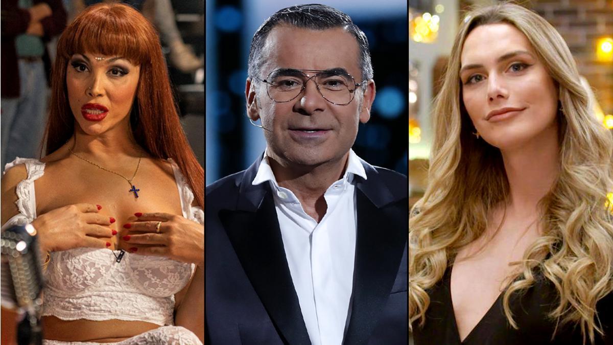Daniela Santiago en 'Veneno', Jorge Javier Vázquez y Ángel Ponce