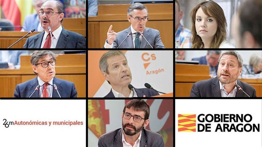 Personas que aspiran a la Presidencia del Gobierno de Aragón