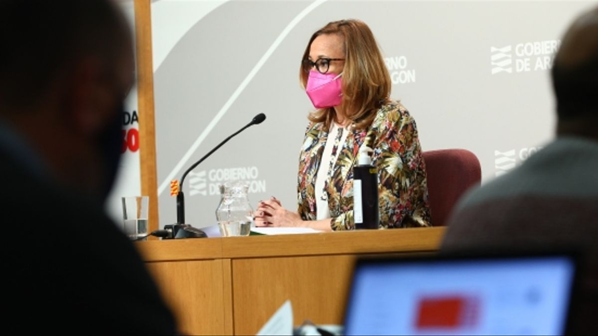 Mayte Pérez en rueda de prensa