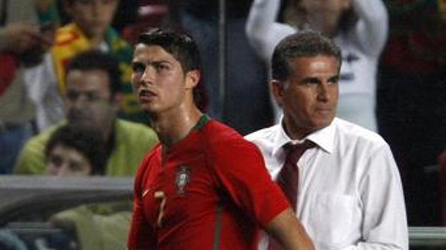 Ronaldo volverá a Madrid tras someterse al control médico de la Federación Portuguesa