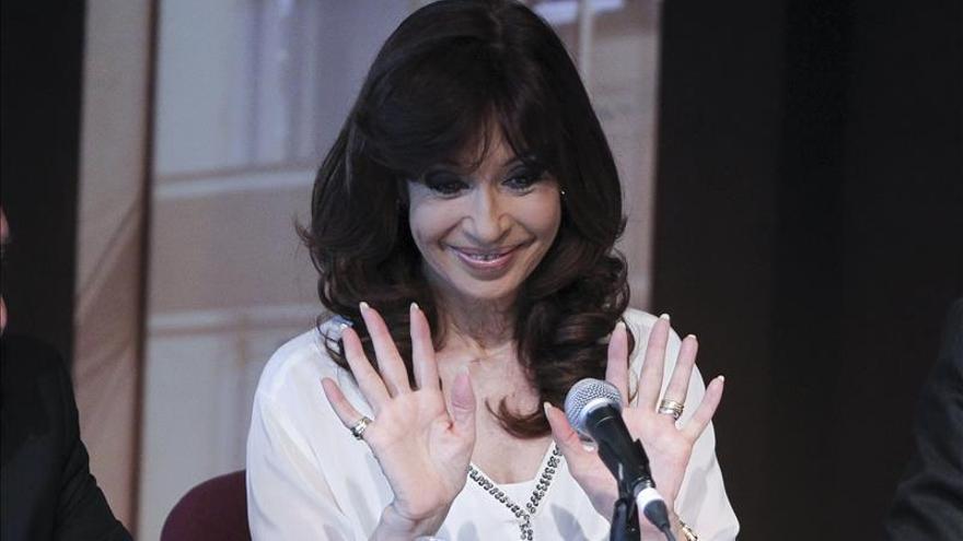 La presidenta argentina se somete a un chequeo médico a días de dejar el Gobierno