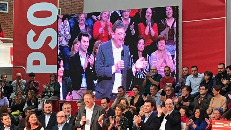 Ximo Puig interviene en el Comité Federal del PSOE celebrado en Fuenlabrada.
