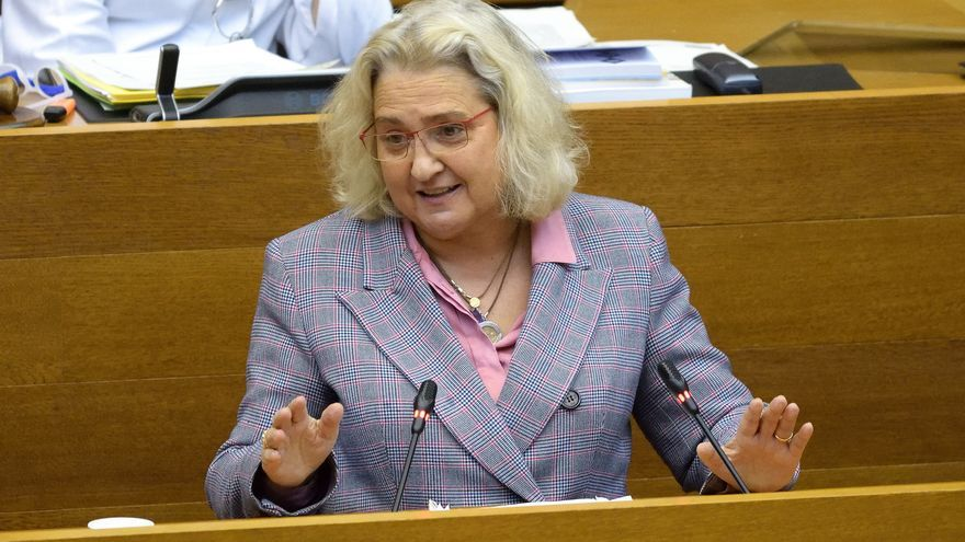 Maria José Ferrer Sansegundo, portavoz de Justicia de PP