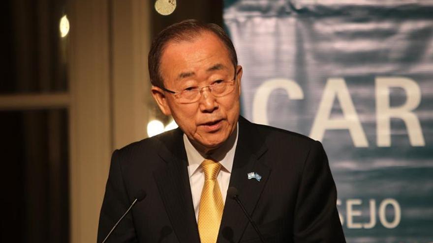 """Ban: """"Hoy hacemos historia en los esfuerzos contra el cambio climático"""""""