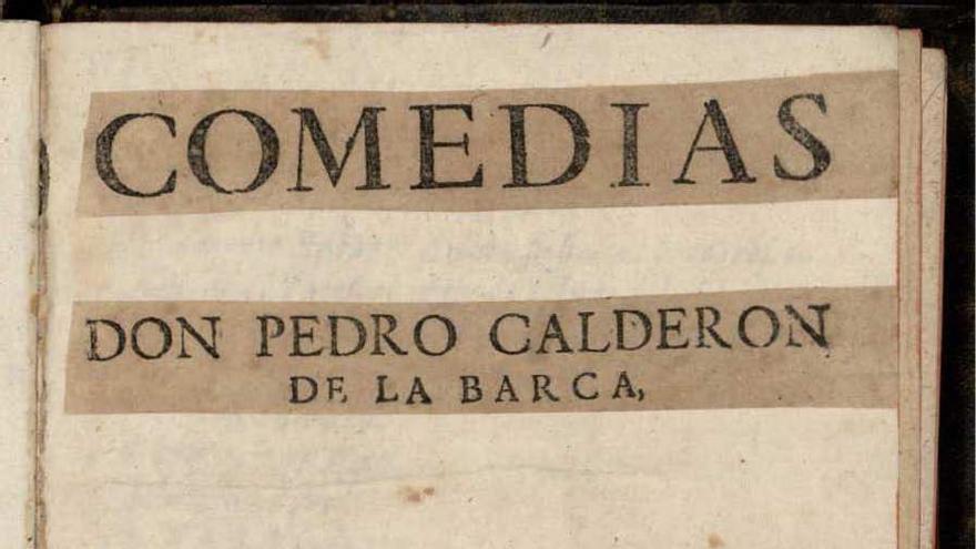 Segunda parte de sus comedias. Pedro Calderón de la Barca (1637)