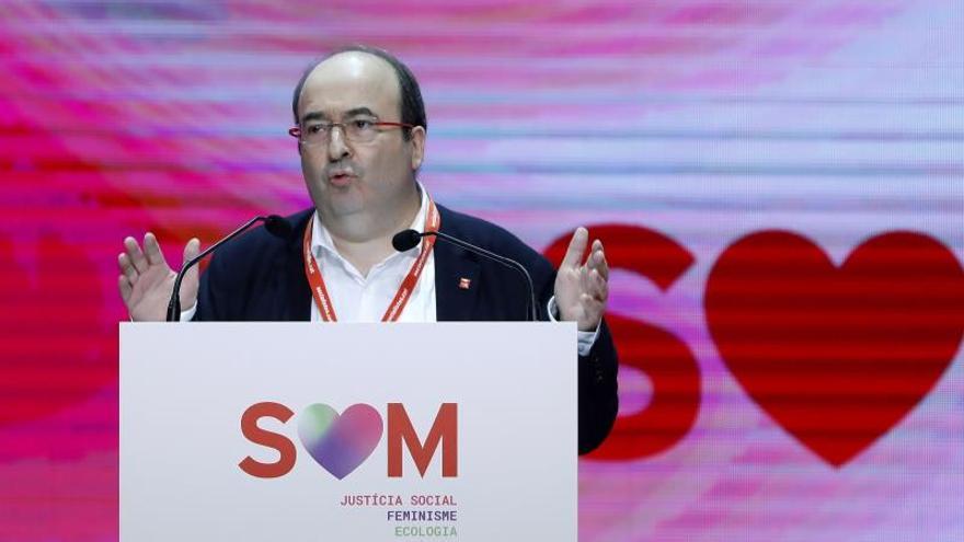 """Iceta pide más recursos y respetar el autogobierno de Cataluña como """"nación"""""""