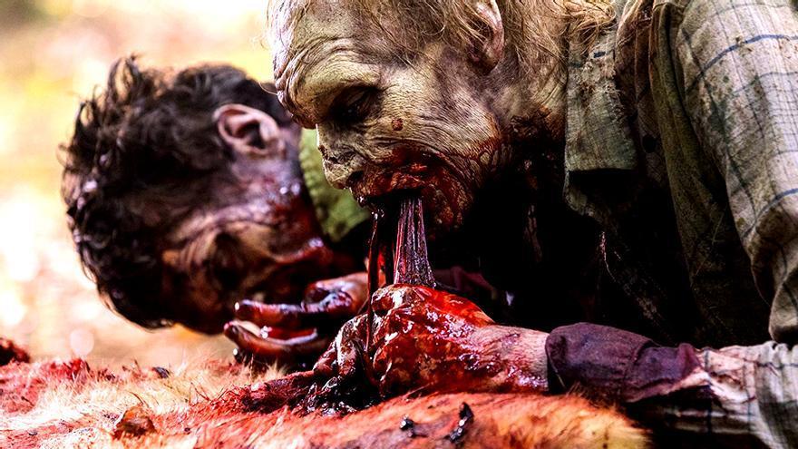 """Un zombi de """"The Walking Dead"""""""