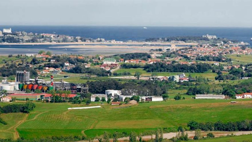 Vista general del municipio de Marina de Cudeyo.