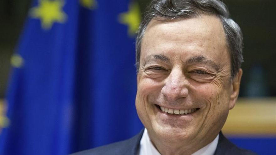 """Draghi dice que se han logrado """"importantes progresos"""" en Grecia"""