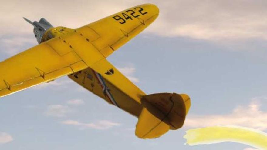 """El 'Amarillo caído del cielo. La aventura del pájaro amarillo"""""""