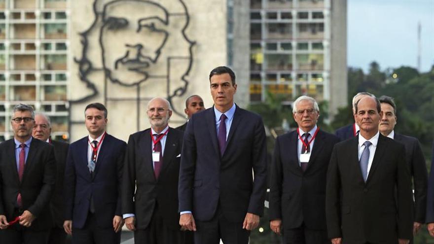 Sánchez y Díaz-Canel inician su reunión a solas en La Habana