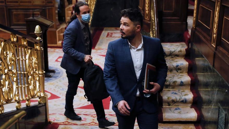 ERC quiere que Sánchez aclare la próxima semana en el Congreso con qué aliados piensa aguantar la legislatura