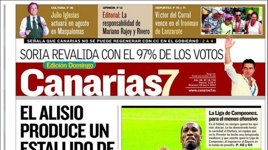 De las portadas del día (20/05/2012) #1