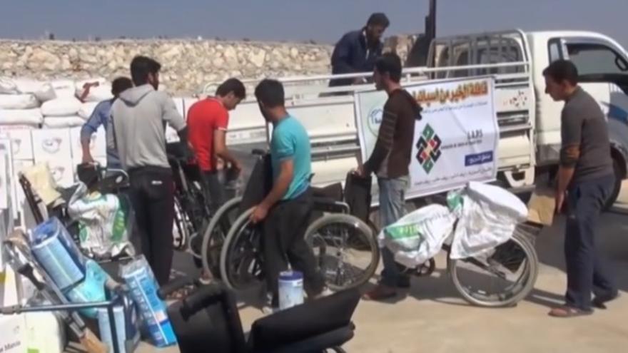 Murcia ya ha enviado su primer gran paquete de ayuda humanitaria