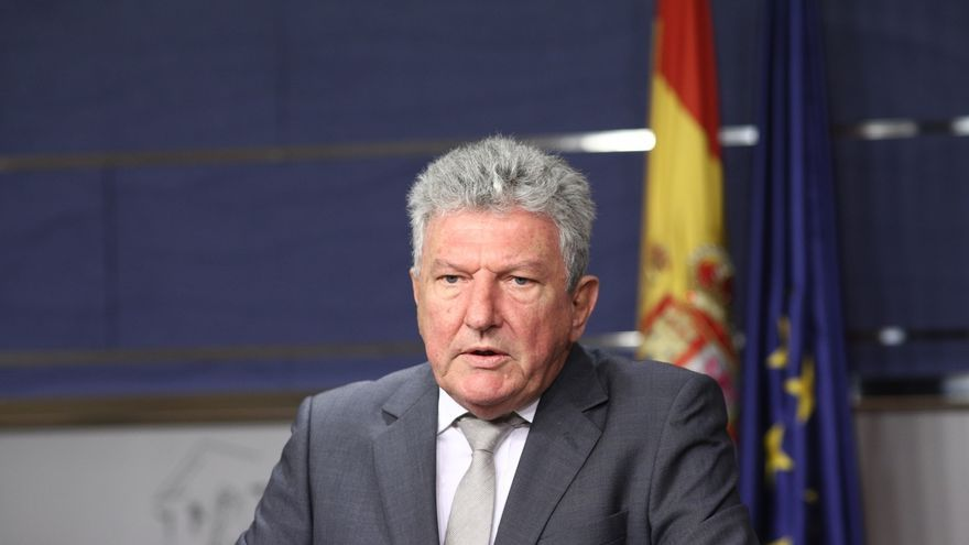 Pedro Quevedo, de Nueva Canarias, elegido presidente de la comisión de investigación sobre el PP